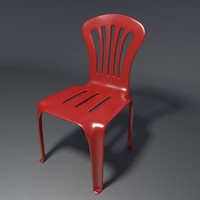 blender realistic chair 1
