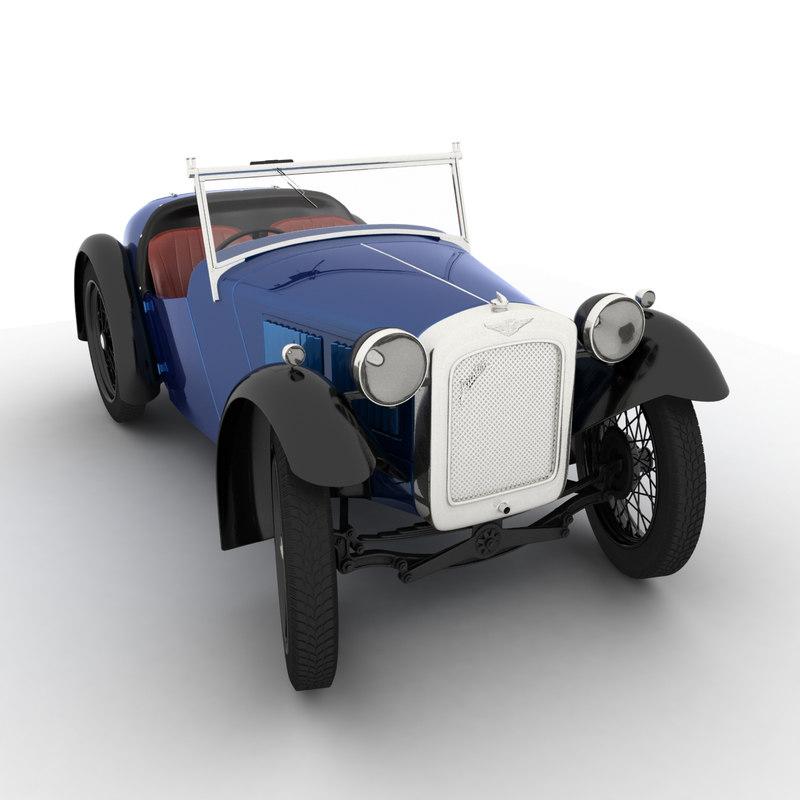 3d v-ray austin 7 nippy model
