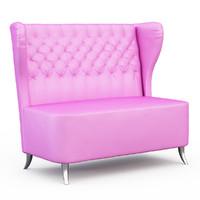 pink sofa x