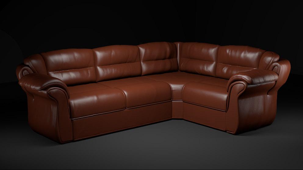 3d model ligne roset sofa