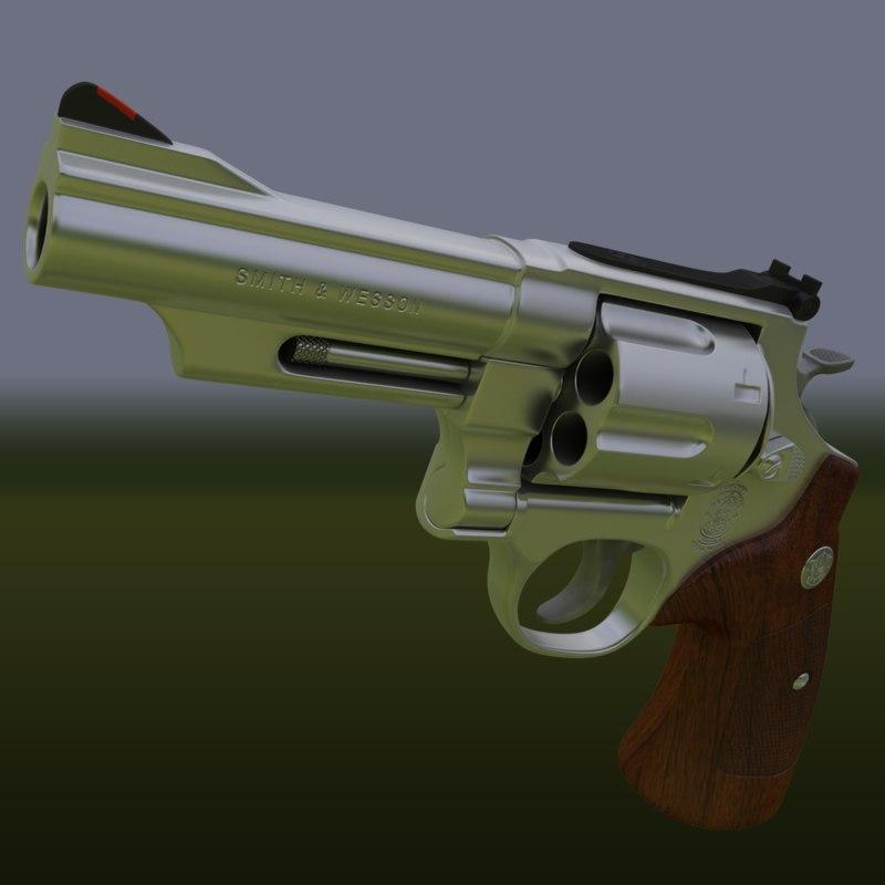 3d model photorealistic 29 629 44 magnum