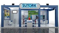 sutork fair stand 3d model