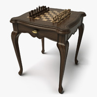 3ds chess table hd