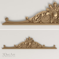 3d model decorative onlay