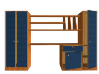 Bedroom Furniture Set 'Lule'