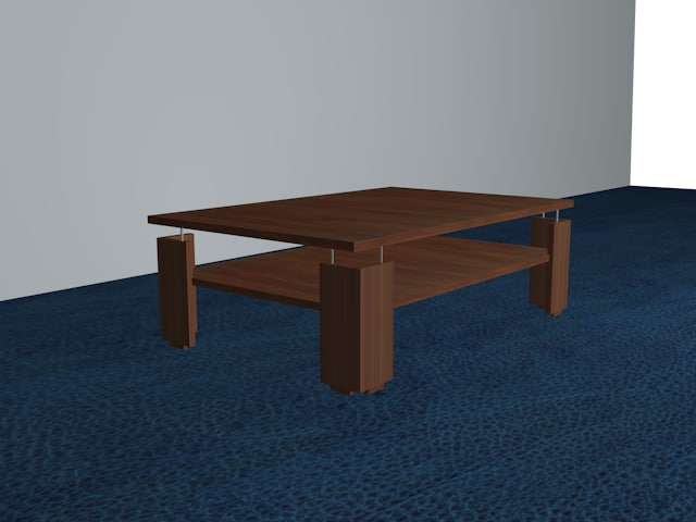 modern table 3d max