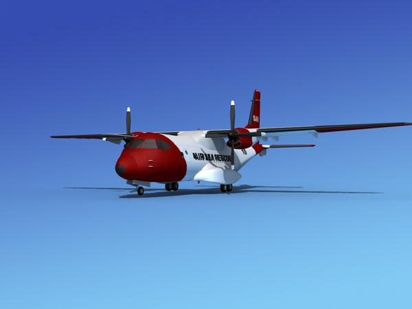 propellers casa cn-235 air 3d 3ds