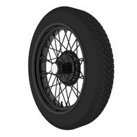 3d model wheel