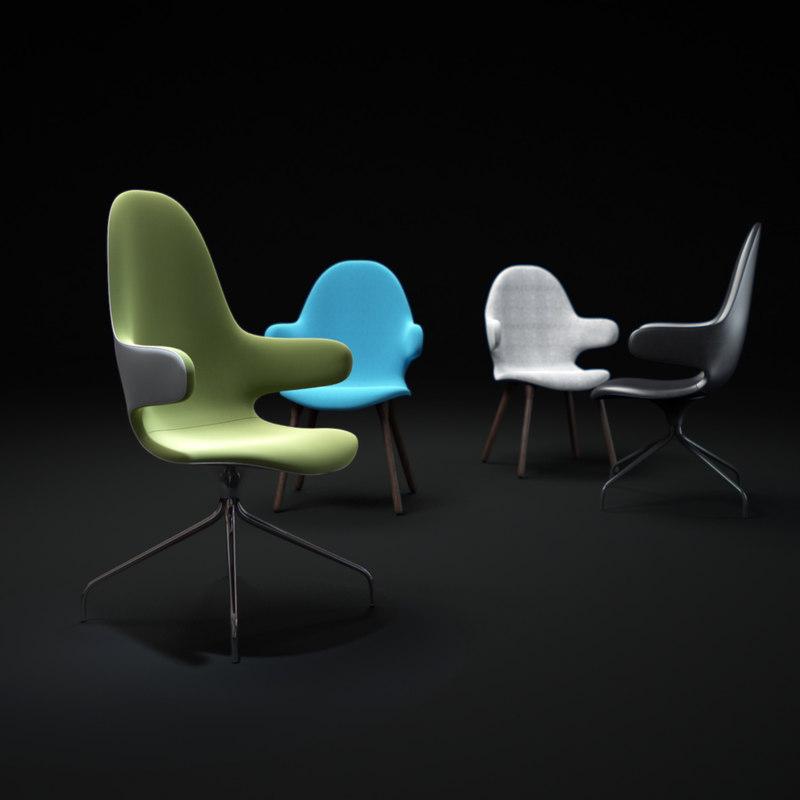 3d model catch-chair