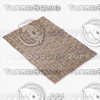 capel rugs 1076 725f 3d model