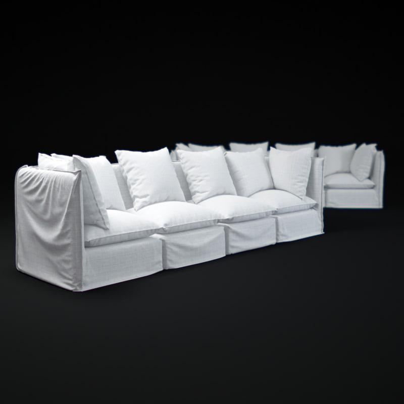 ghost-0607-sofa 3d max