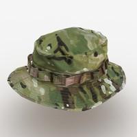 Soldier Boonie Camo Hat