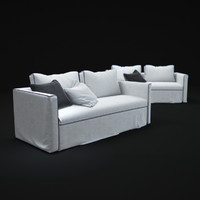 3d model law-dormeuse-sofa