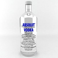 absolut vodka bottle max