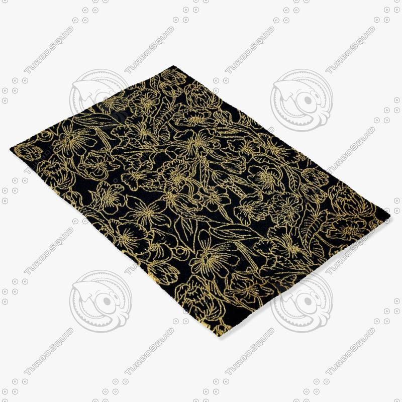 3d model capel rugs 1405 350f