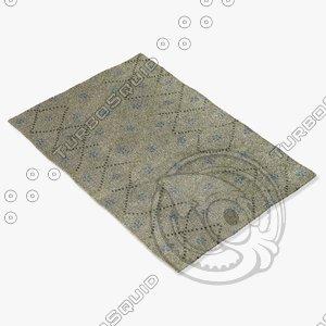 capel rugs 1623 400f 3d model