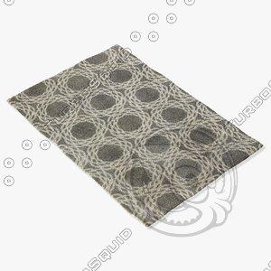 3d model capel rugs 1930 360f