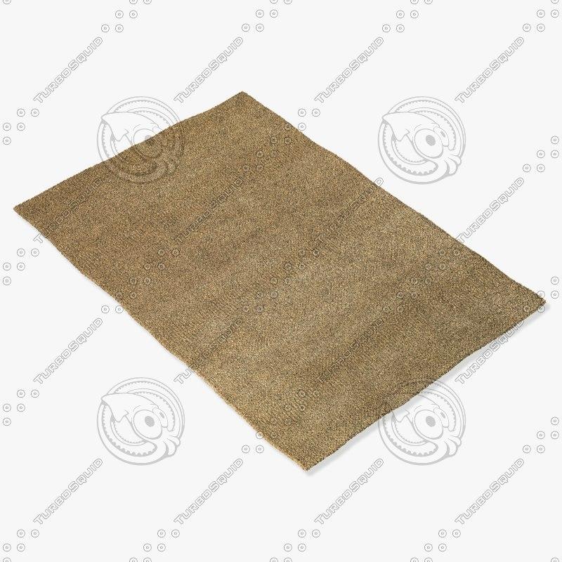 3d model capel rugs 2490 700f