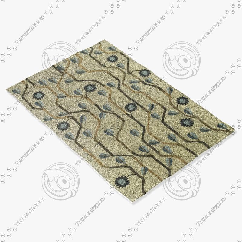 capel rugs 3027 460f 3d model