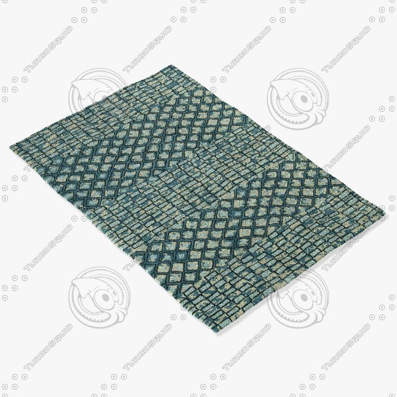 capel rugs 3121 300f 3d model