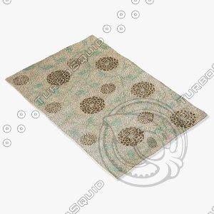 3d capel rugs 3264 720f model