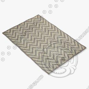 capel rugs 3266 340f 3d model