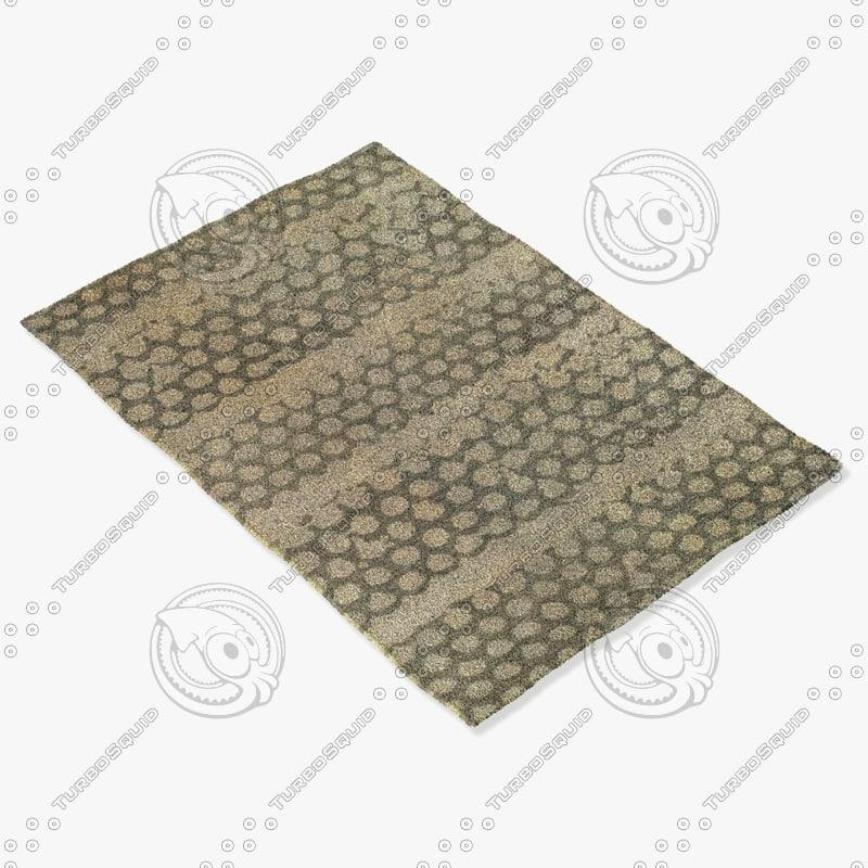 capel rugs 3282 320f 3d model