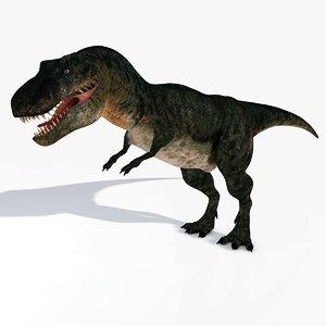 tyrannosaurus rex t-rex 3d model
