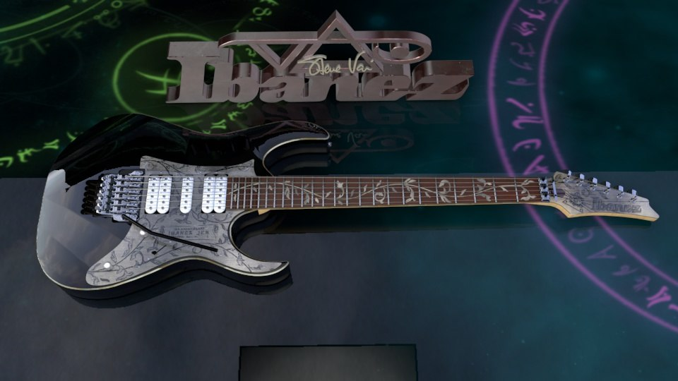 cinema4d steve vai ibanez jem10th