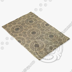 capel rugs 3283 475f 3d 3ds