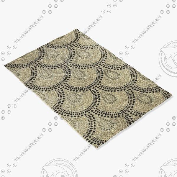 capel rugs 3288 660f 3d max