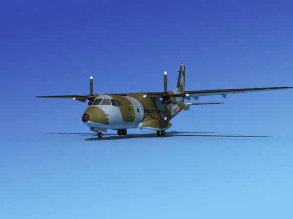 3d propellers casa cn-235 transport