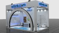 fair stand - adonis 3d max
