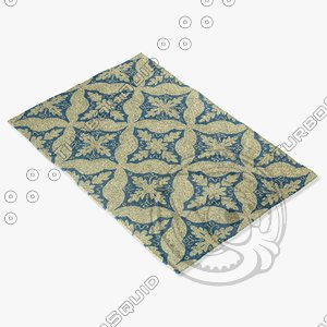 3dsmax capel rugs 3289 450f