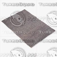 capel rugs 3305 340f 3d model