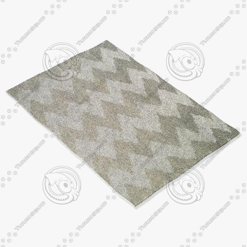 3d capel rugs 3626 725f model