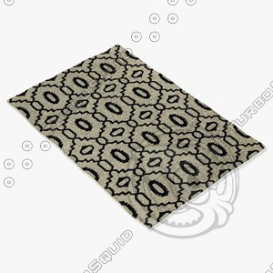 capel rugs 3628 300f 3d model