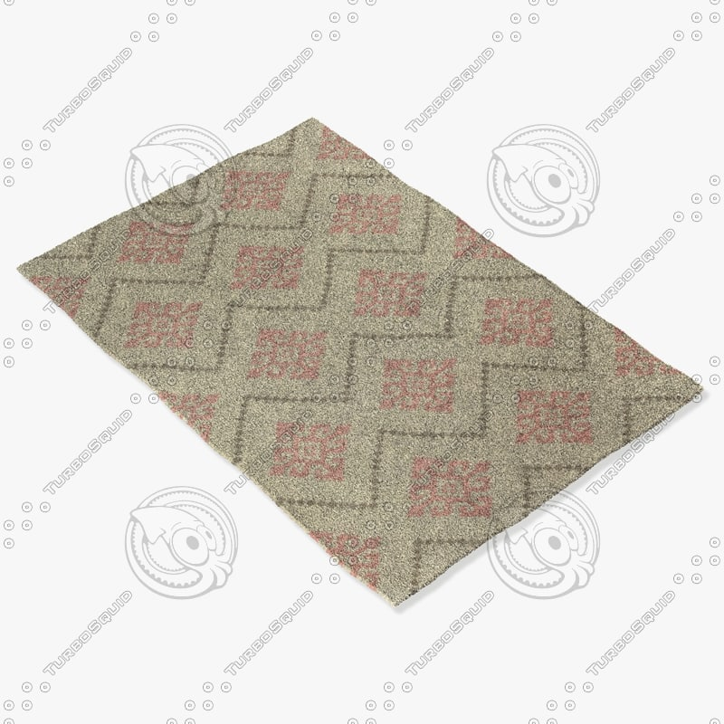 capel rugs 3629 530f 3d 3ds