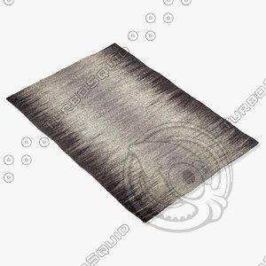 capel rugs 3634 330f 3d model
