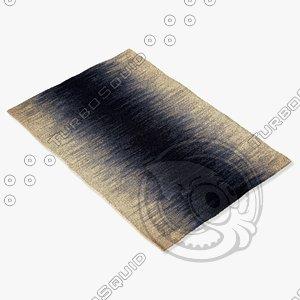 3d model of capel rugs 3634 450f