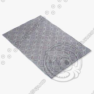 capel rugs 3665 400f 3d model