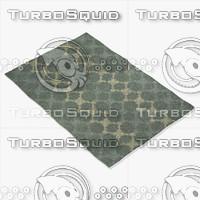 capel rugs 3666 300f 3d max