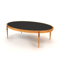 3dsmax leclair christopher guy coffee table