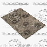 3d model capel rugs 3872 700f