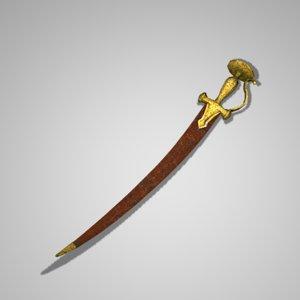 3d ma sword polygons