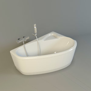 3dsmax corner bath