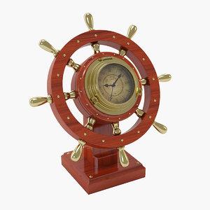 3ds max ship s wheel