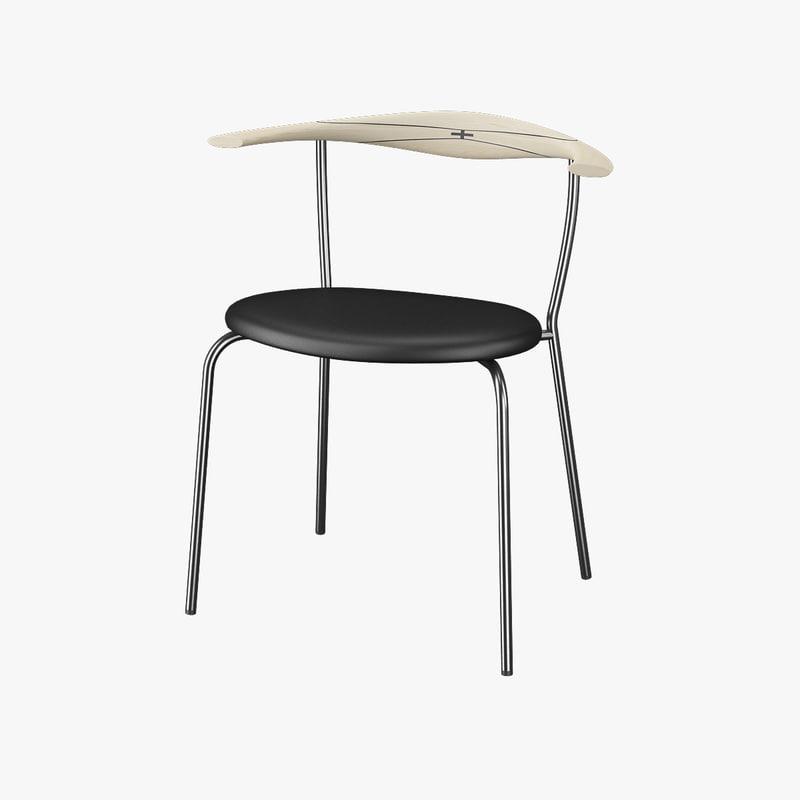 3d model minimal chair