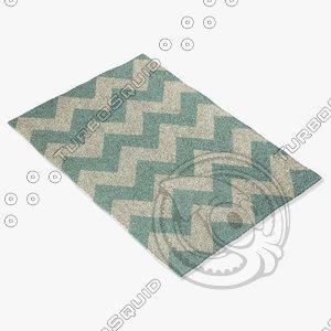 3d capel rugs 4726 420f model