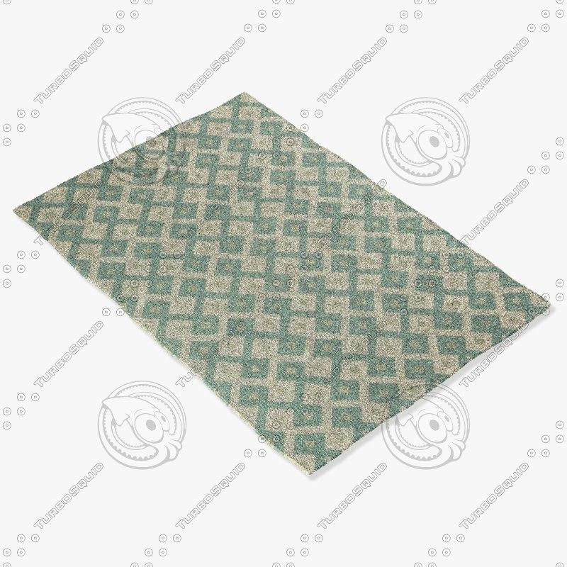 3d model capel rugs 4727 420f
